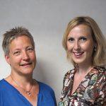 Christien Grotentraast en Suzanne Warnaar